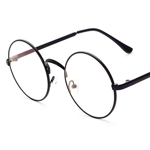 Aoligei Entourez le cadre plat miroir Full Metal retro-prince miroir lunettes hommes et femmes lunettes Frame B
