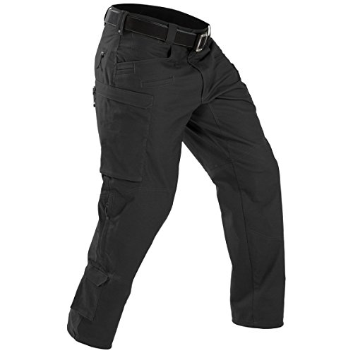 Tactical Defender Black Pants Men's First Svqzdnd