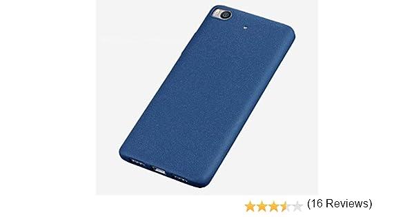 Baanuse Xiaomi 5S Funda Xiaomi Mi5S Funda, [Ultra Slim Soft TPU] [Sand Scrub Non-Slip] [Shockproof Armor] Carcasa para Xiaomi 5S Azul: Amazon.es: Electrónica