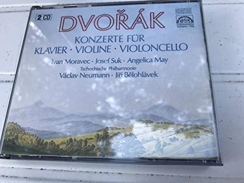 Dvorak: Concertos for Piano (op.33), Violin (op.53), Cello (op.104)