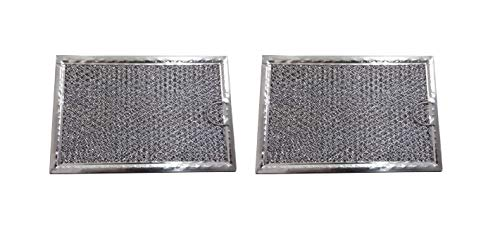- 2 Pack Aluminum Mesh Microwave Grease Filter for Frigidaire 5304464105 - New