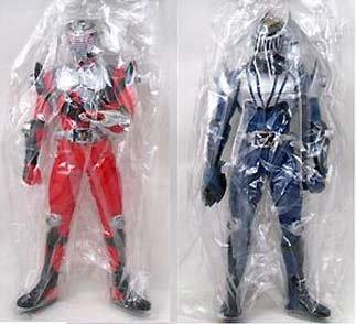 soporte minorista mayorista Masked Rider Ryuki big Talla Soft Vinyl Figura Figura Figura whole set of 2  almacén al por mayor