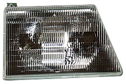 Econoline Club Wagon Fender - TYC 20-3074-90 Ford Econoline Passenger Side Headlight Assembly