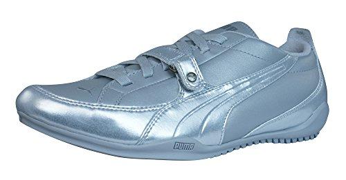 Puma Berlin Zapatillas de cuero de la Mujer - plata Silver