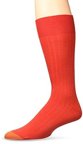- Gold Toe Men's Patterned Fashion Dress Crew Socks, 1 Pair, Rayon Rib, Shoe Size: 6-12.5