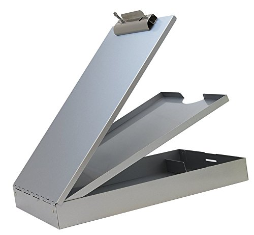Saunders 21017 Recycled Aluminum Cruiser Mate Storage Clipboard - Lightweight, Heavy Duty, Dual Storage Paper Holder. Storage Clipboard ()