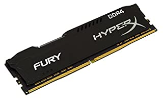 HyperX Kingston Technology Fury Black 8 GB CL15 DIMM DDR4 2400 MT/s Internal Memory (HX424C15FB2/8) (B01D8U2BKA) | Amazon price tracker / tracking, Amazon price history charts, Amazon price watches, Amazon price drop alerts