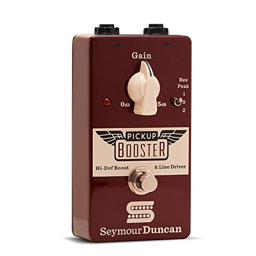 Seymour Duncan Pickup Booster Pedal Guitar Signal Path Effect