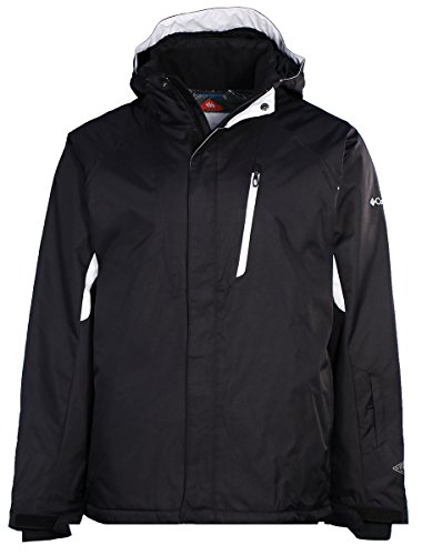 Columbia Men's Blancher Mountain II Omni-Tech Jacket-Black/White-Large