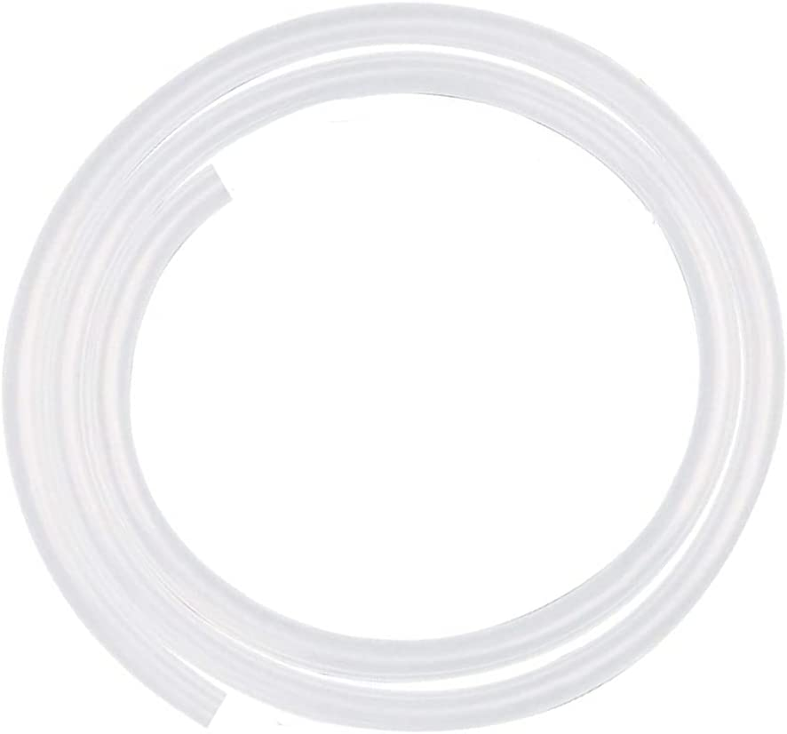 JUNZHIDA Silicone Tubing 1/8 Inch ID X 1/4 Inch OD Silicone Rubber Tube Food Grade for Pump Transfer, Homebrew Tube 10ft