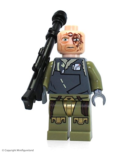 Lego Star Wars Obi-Wan Kenobi Rako Hardeen Bounty Hunter Disguise Minifigure (2013) ()