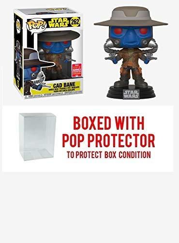 Funko Pop! Star Wars: The Clone Wars Pop! Cad Bane Vinyl Bobble-Head 2018 Summer Convention Exclusive Collectible Vinyl Figure (Bundled with Pop Box Protector Case) -