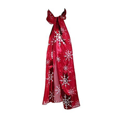 Holiday Silk Feel Scarf