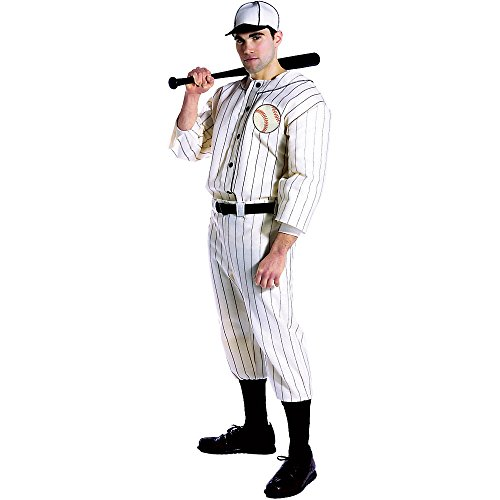 Old Tyme Baseball Player Adult Costume - One Size