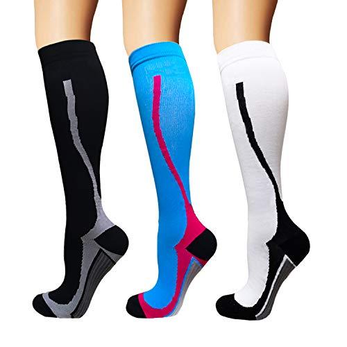 Underwear & Sleepwears Steady Hot Sale 4 Pairs/lot Men Women Leg Support Stretch Soft Compression Socks Fitness Socks Unisex Crew Solid Women Release Stress