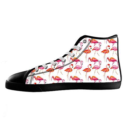 Ginnastica Scarpe Tetto Canvas Flamingo Da Shoes Delle I Modello Women's Alto Lacci Custom ZgwvnpTqxU