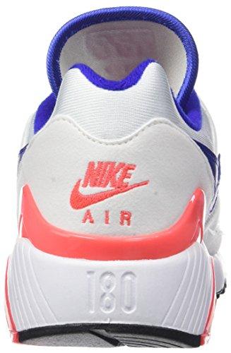 Solaire Wmns Gymnastique Nike Femme De 180 Air bleu rouge Multicolore Ultramarine noir Max 100 blanc Chaussures Yqad7qW