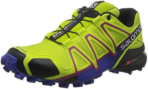 Salomon L39185900, Zapatillas de Trail Running para Mujer, Verde (Gecko Green/Spectrum Blue/Black), 45 1/3 EU: Amazon.es: Zapatos y complementos