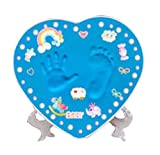 Beautiful Baby Hand Print and Footprint Keepsake Baby Shower Gift,A2