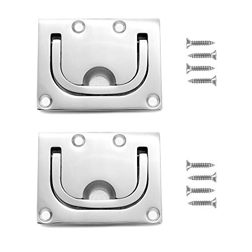 Vakocean 316 Stainless Steel Ring Pull Handle Pack of 2