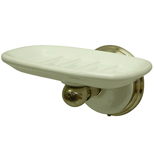 (Kingston Brass BA1115SN Victorian Soap Dish, 5-1/2