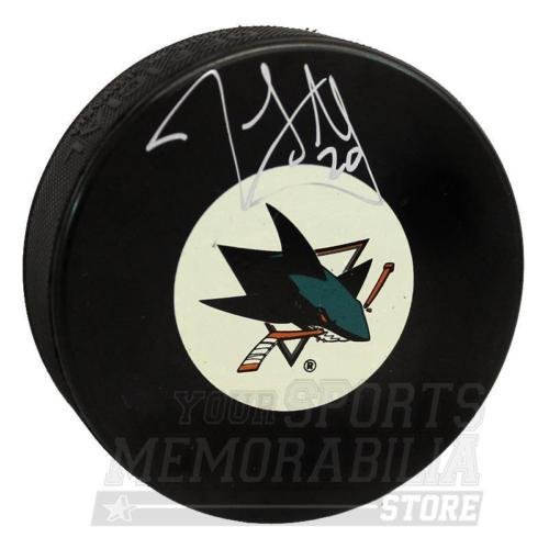 John Scott San Jose Sharks Signed Autographed Sharks Hockey Puck B Your Sports Memorabilia Store