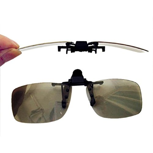 Myopia Clip 3D Glasses Make Eyes See 3D Effect Movie Passive TV with Glasses Box