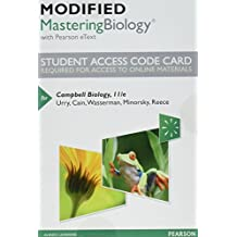 Modified Mastering Biology with Pearson eText -- Standalone Access Card -- for Campbell Biology