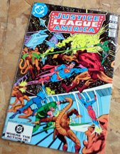 Justice League of America Comic Book -