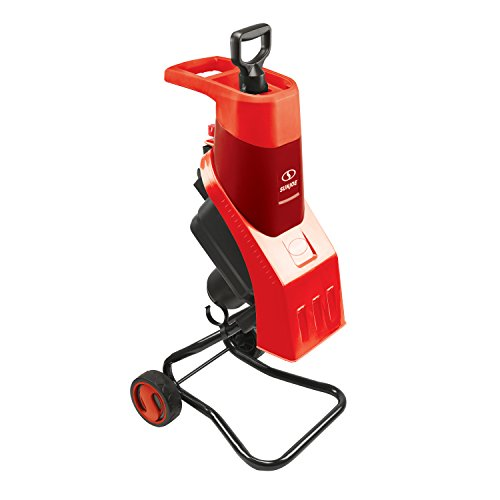 (Sun Joe CJ602E-RED 15 Amp Electric Wood Chipper/Shredder, Red)