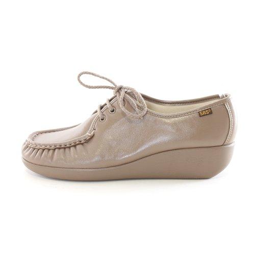 Sas Dames Bounce Comfort Schoenen (10 M, Mokka)