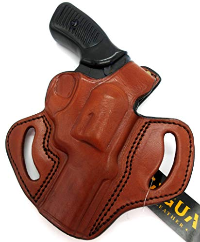 TAGUA Thumb Break Brown RH Holster for Ruger SP101 3