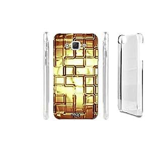 FUNDA CARCASA CIRCUIT GOLD PARA SAMSUNG GALAXY J7 SM-J700F