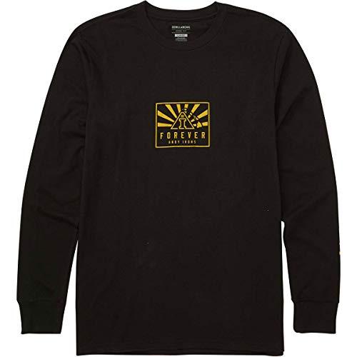 Billabong Men's Forever L/S Shirts,Large,Black