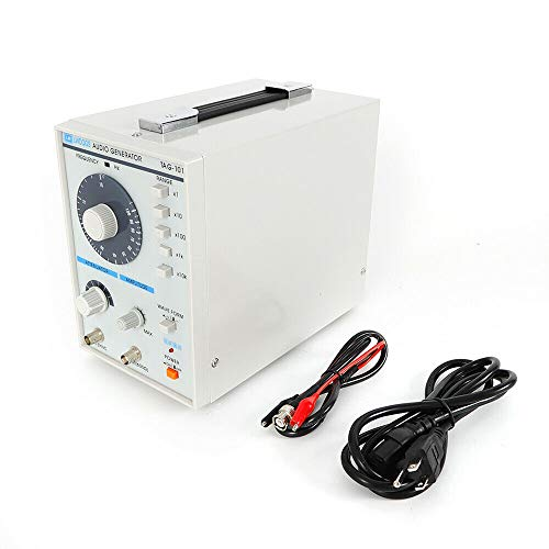 Dzhot51 110V Signal Source Audio Generator 10Hz-1MHz Audio/Low Frequency Signal Generator TAG-101 from Dzhot51
