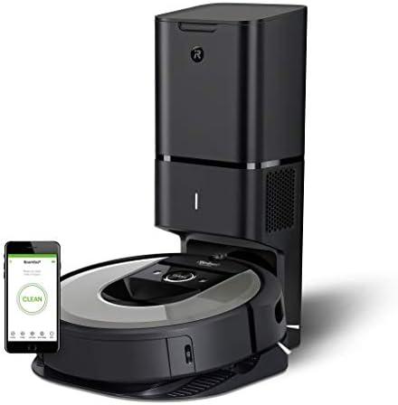 iRobot i7+ Roomba - Robot Aspirador Wi-Fi, Autovaciado, Succión ...