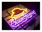 LDGJ Crown Royal Neon Light Sign Home Beer Bar Pub Recreation Room Game Lights Windows Garage Wall Signs Glass Home Party Birthday Bedroom Bedside Table Decoration Gifts