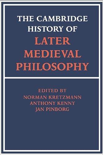 topics in medieval philosophy