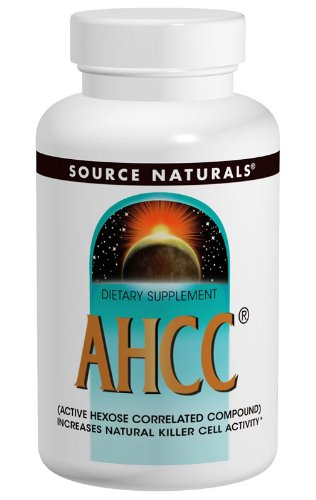 Source Naturals AHCC With BioPerine (Kinoko Platinum Ahcc 750 Mg)