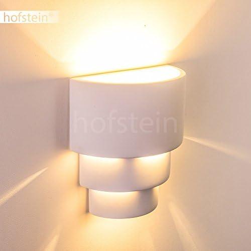 Muro BIANCO LAMPADA CERAMICA GESSO Bemalbar e27 Lampada Corridoio Soggiorno Camera da Letto