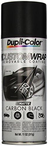 (Dupli-Color ECWRC7947 Custom Wrap Matte Carbon Black)