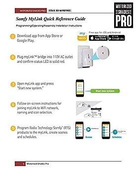 SOMFY MyLink RTS Smartphone Interface/WiFi to Radio