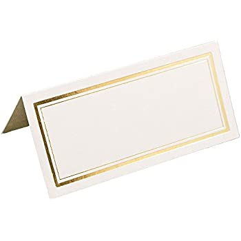 Wilton ivory place cards place card holders for Amscan templates place cards