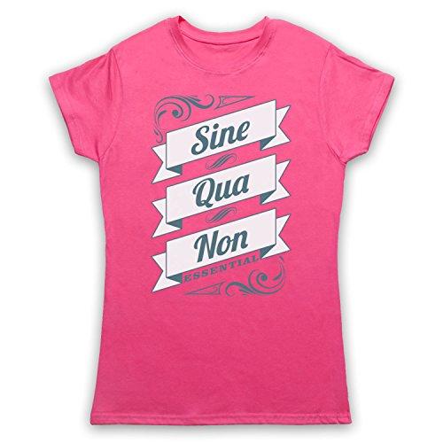 My Icon Art amp; Clothing Sine Qua Non Essential Damen TShirt Rosa ...