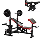 AmStaff Fitness DF-1323 Multifunctional Press Bench