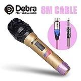 Debra DH-58S Top quality Wired Handheld Vocal Microphone For Professional Performance Karaoke Speech Hip hop Rap DJ