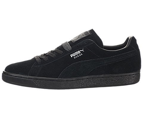PUMA Suede Classic Sneaker,Black,8 M US Women's/6.5 M US Men's