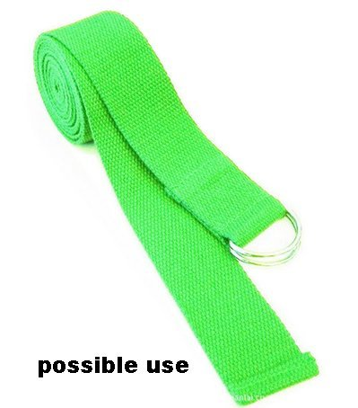 HipGirl 1 1/4 Inch Polypro Webbing, 8 x 2 Yards Combo, For Craft, DIY Key Chain Fob, Yoga Strap, Tote, Bag Handle, Backpack Strap, Belt, Leash, Outdoor Chair and Furniture
