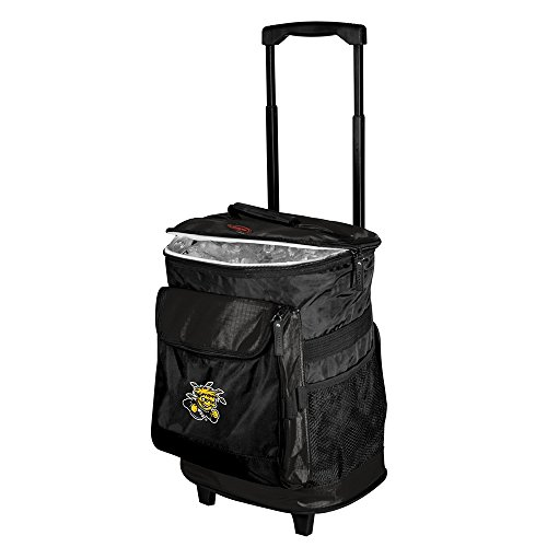 (Logo Brands NCAA Wichita State Rolling Cooler, One Size, Multicolor)