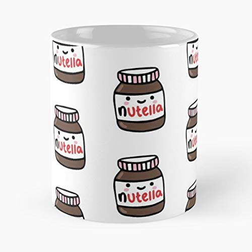 Nutella Cute Chocolate Shibi - Coffee Mugs Best Gift For Father Day - Choc Spread
